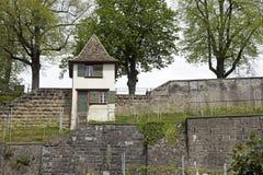一个小手表塔在拉珀斯维尔 免版税库存照片
