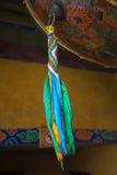 一个小手鼓的细节在拉萨 库存照片