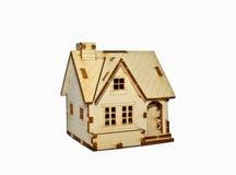 一个小木房子 库存照片
