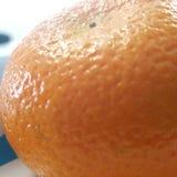 一个小桔子 免版税图库摄影