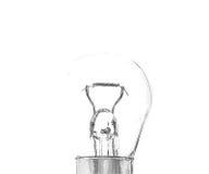 一个小电灯泡 库存图片