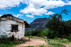 一个小的房子 免版税库存图片
