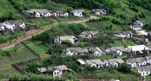 一个小的村庄 免版税库存照片