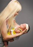 一个小的婴孩 免版税图库摄影