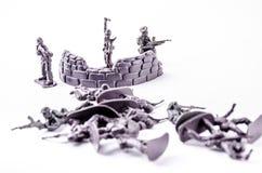 一个小组战士玩具 库存图片