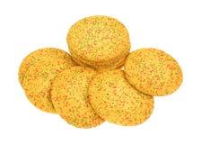 糖屑曲奇饼洒小组 库存照片