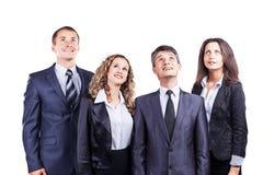 一个小组有吸引力和成功的事务, 免版税库存图片