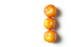 一个小组蕃茄 免版税图库摄影