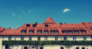 一个屋顶 免版税图库摄影