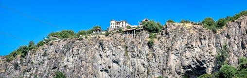 一个岩石的房子在亚美尼亚 图库摄影