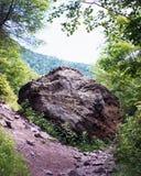 一个岩石 库存图片