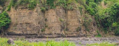 一个峭壁的全景, Vetenam 免版税库存照片