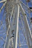 一个巨型轮子的结构 图库摄影