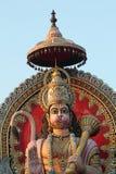 一个巨型阁下Hanuman的雕象 图库摄影