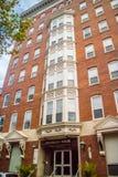 一个巨大的住宅公寓在宾夕法尼亚,费城 库存照片