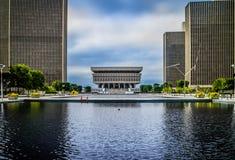 一个巨大的公开博物馆在阿尔巴尼,纽约 免版税库存图片