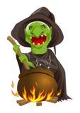一个巫婆 免版税库存图片