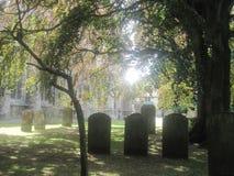 一个平安的坟园 免版税库存照片