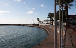 一个平安的港口 免版税库存图片