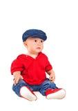 一个幼儿的纵向 免版税图库摄影