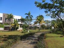 一个庭院在Serpong 免版税库存照片