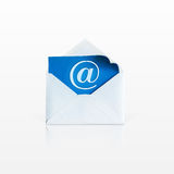 一个开放信封 免版税图库摄影