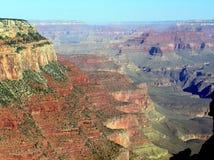 大峡谷从足迹的国家公园视图 免版税库存图片