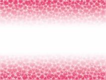 一个情人节的例证,心脏与co的bokeh背景 库存照片