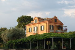 一个房子在索伦托 库存照片