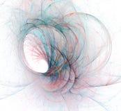 一个抽象计算机生成的现代分数维设计 抽象分数维颜色纹理 abstact艺术深深数字式红色转动 抽象形式&颜色 向量例证
