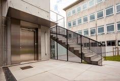 一个接近的电梯 库存图片