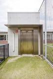 一个接近的电梯 免版税图库摄影