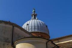 一个教会圆顶在威尼斯 免版税库存图片