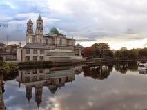 一个教会在Athlone,爱尔兰 图库摄影