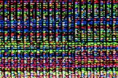 一个数字式小故障的映象点样式 库存图片