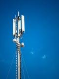 一个数字电话天线 免版税图库摄影