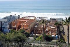 一个新建工程站点在南加利福尼亚 免版税库存图片