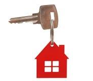 一个新房的关键字 免版税库存照片