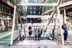 一个新的变动商城在伦敦,英国 免版税库存照片