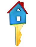 一个新的家的关键字 免版税库存图片
