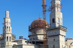 一个新的清真寺 免版税库存图片