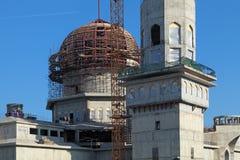 一个新的清真寺 库存图片