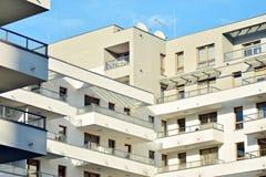 一个新的现代公寓的细节 库存图片