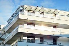 一个新的现代公寓的细节 免版税库存图片