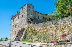 一个晴朗的下午的博维莱埃尔尼卡,弗罗西诺内,拉齐奥,意大利省  库存图片