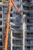 一个更旧的公寓的爆破 免版税库存图片