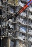 一个更旧的公寓的爆破 免版税图库摄影