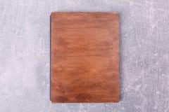 一个木厨房箱子 免版税库存照片