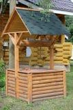 一个木坑 库存照片