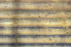 一个木房子特写镜头的老墙壁,背景图象 免版税库存照片